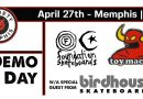 TOY MACHINE AND FOUNDATION DEMO APRIL 27TH!